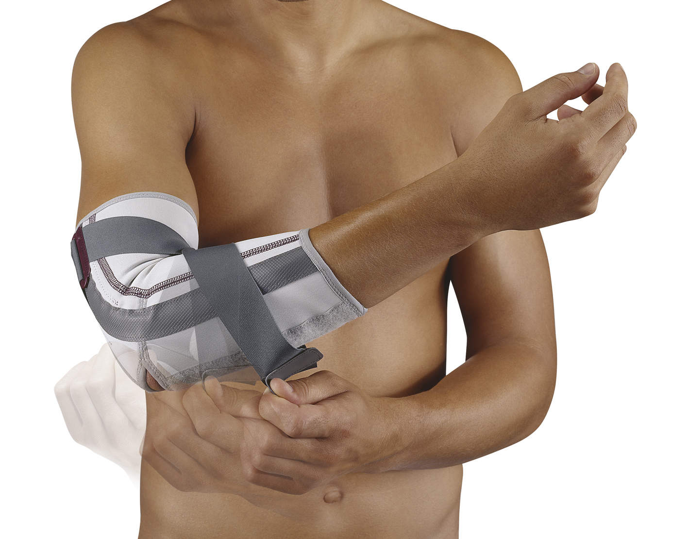 Anti-Hyperextensie elleboogbandage