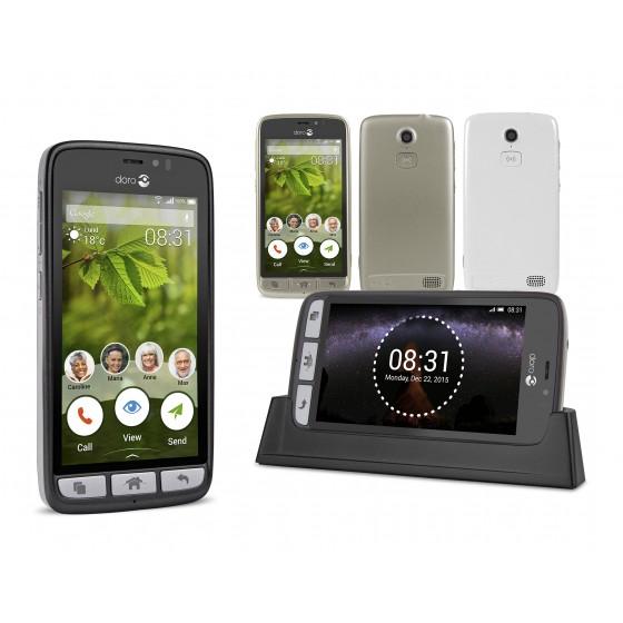 DORO 8031: een EENVOUDIGE en INTUITIEVE 4G SMARTPHONE